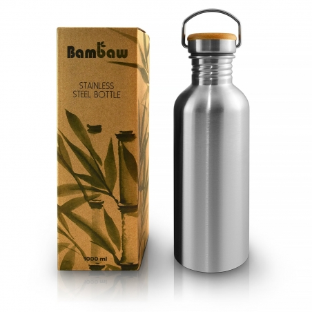 Thermal stainless steel bottle (750ml) - BAMBAW